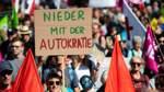 Tausende Teilnehmer bei Verkehrswende-Demo in Frankfurt