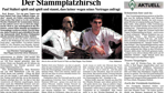 """""""Der Stammplatzhirsch"""""""