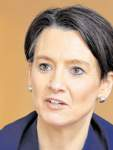 Streitgespräch zwischen Senatorin Claudia Bogedan und den Schülern Nona Reinke und Julius Schlichting - Claudia Bogedan