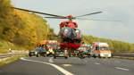 Zwei Schwerverletzte bei Unfall auf der A1 bei Oyten