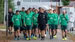 Abschlusstraining vor Düsseldorf-Spiel