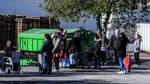 Besuch bei der Bremer Tafel - während der Corona-Krise haben sie ihre Logistik und Distribution umgestellt. Bremen ist jetzt ein Zentrallager für andere Tafeln