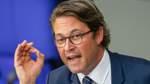 Eine Watsche für Minister Scheuer
