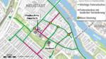 In der Bremer Neustadt soll mit Fördermitteln aus dem Klimaschutzfonds ein richtiges Fahrradquartier entstehen.