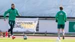 Werder plant Training in Kleinstgruppen