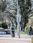 Wo der Timkenweg auf die Falkenberger Landstraße trifft, wird das Queren für Radfahrer wegen zu hoher Absätze ungemütlich.