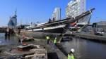Museumsschiff erreicht seinen Abwrackplatz