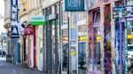 Inhaber hoffen Geschäfte im Viertel wieder öffnen zu können