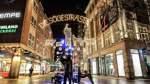 Weihnachtsbeleuchtung bleibt in der Bremer City bis Ende Februar an