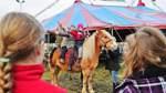 Zirkus Eldorado trainiert mit Sudweyher Grundschülern
