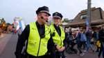 """Auf Freimarkt-Streife mit der Polizei: """"Immer wissen, wo Stress ist"""""""