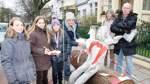 Neue Skulptur steht für Kinderrechte