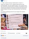 """Die AfD nennt das ZDF auf Facebook """"Zweites Deutsches Fakefernsehen""""."""