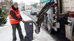 Tonne für Müll-Fahrzeuge richtig aufstellen