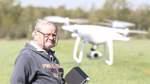 Rehkitzsuche in Grasberg per Drohne