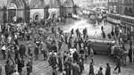Konfrontationen in der Bremer Innenstadt