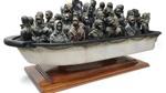 Banksy verlost ferngesteuertes Boot mit Flüchtlingen - um ihnen zu helfen