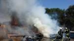 Acht Autos brennen im Fischereihafen Bremerhaven