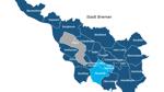 Die Ortsteile, die dunkelblau gefärbt sind, stimmten gegen eine Bebauung, die in hellblau dafür. Hier gelangen Sie zur interaktiven Karte.