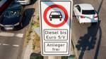 Streit über Dieselfahrverbote