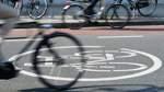 Fahrradprotest in der Bremer Innenstadt
