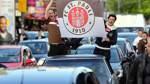 Jubel-Empfang für Fast-Aufsteiger St. Pauli