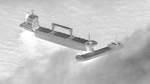 Kollidierte Schiffe vor Borkum getrennt