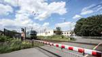 Lärmschutz-Lücke an der Bahnstrecke in Grambke