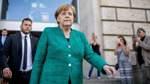 Merkel rechnet nicht mit Bruch der Regierung wegen Asylstreit