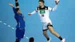 Deutsche Handballer mit Remis gegen Frankreich