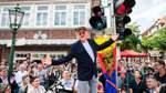 Jetzt hüpft Otto in Emden bei Grün