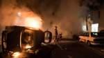 Unruhen und Krawalle in Nantes