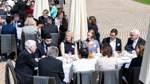 70 Jahre Grundgesetz - Kaffeetafel beim Bundespräsidenten