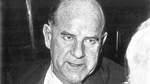 Werft-Chef Robert Kabelac 1956 bei der Schaffermahlzeit.