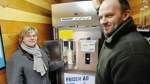 Dörte und Wolfgang Rademacher stellen Automaten auf