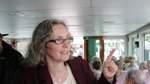 Annegret Reinecke von der Umweltorganisation Robin Wood