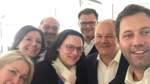 Union und SPD: Erschöpft, aber zufrieden
