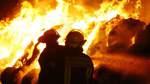 Strohballen-Brände: Polizei sucht Serientäter
