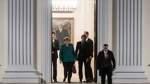 Treffen Steinmeier mit Merkel, Schulz und Seehofer beendet