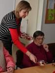 GRA: Fotoreportage Mittagstisch in der Altenwohnanlage
