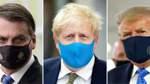 Coronavirus - Regierungschefs mit Mundschutz