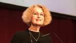Regte zum analogen Dialog über das digitale Zeitalter an: Gastgeberin und Verlagsgeschäftsführerin Angelika Saade.