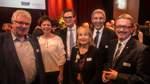 Einfach nur Gast sein: das genossen die Bürgermeister Harald Stehnken (Schwanewede), Marion Schorfmann (Grasberg), Kristian Tangermann (Lilienthal), Susanne Geils (Ritterhude), Torsten Rohde (Stadt) und Landrat Bernd Lütjen (v.l.).