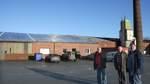Auf dem Dach entsteht das größte Solarkraftwerk im Landkreis Osterholz