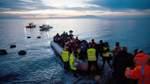 Weniger Flüchtlinge erreichen Mittelmeerländer