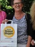 """Heike Wilhelm von der Initiative """"Wir an der 4"""" zieht ebenfalls ein positives Fazit der beiden Aktionstage für bekennende """"Heimat-Shopper""""."""