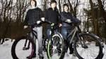 Erlebnispfad und Fahrradparcours im Wald