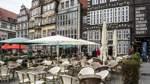 Außengastronomie auf Bremer Marktplatz endet am Sonntag