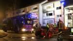 Wohnung in Huchting ausgebrannt: Vier Menschen verletzt