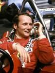 Niki Lauda vor 40 Jahren.